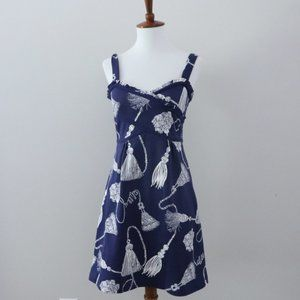 Lilly Pulitzer Vanessa Behind the Rope Dress Navy
